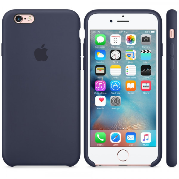 Чехол Silicone Case для iPhone 6 Plus/6s Plus Midnight Blue OEM