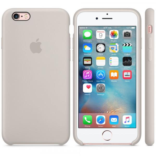 Силиконовый чехол Apple Silicone Case Stone (MKXN2) для iPhone 6 Plus/6s Plus