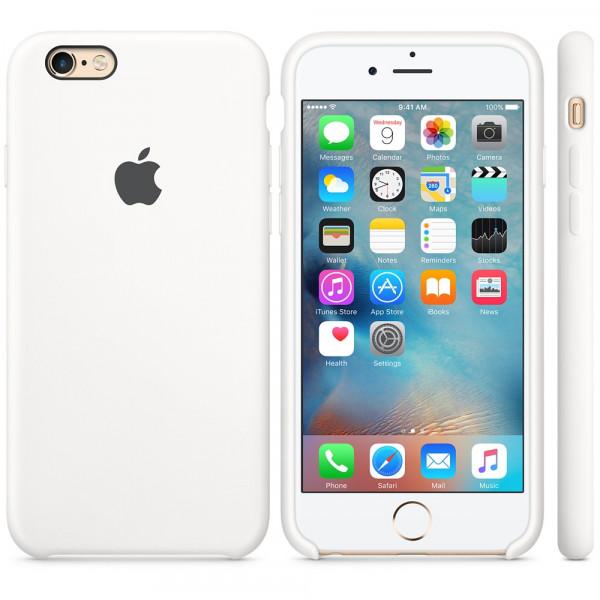 Чехол Silicone Case для iPhone 6 Plus/6s Plus White OEM