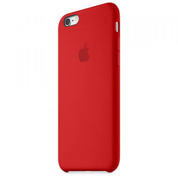 Чехол Silicone Case для iPhone 6/6s (Red) OEM
