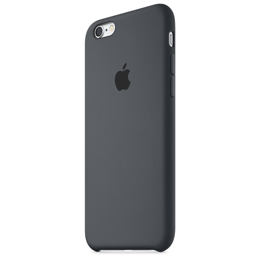 Чехол Silicone Case для iPhone 6/6s (Charcoal Gray) OEM
