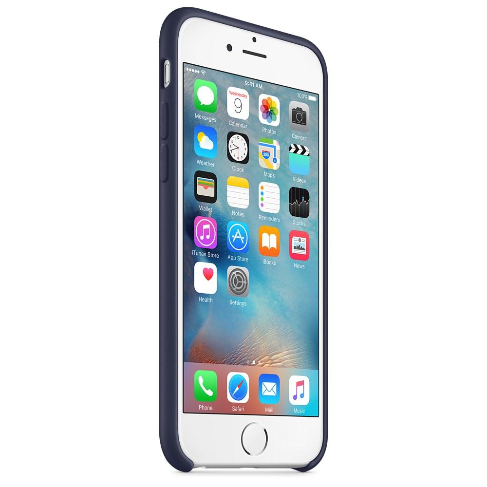 Силиконовый чехол Apple Silicone Case Midnight Blue (MKY22) для iPhone 6/6s