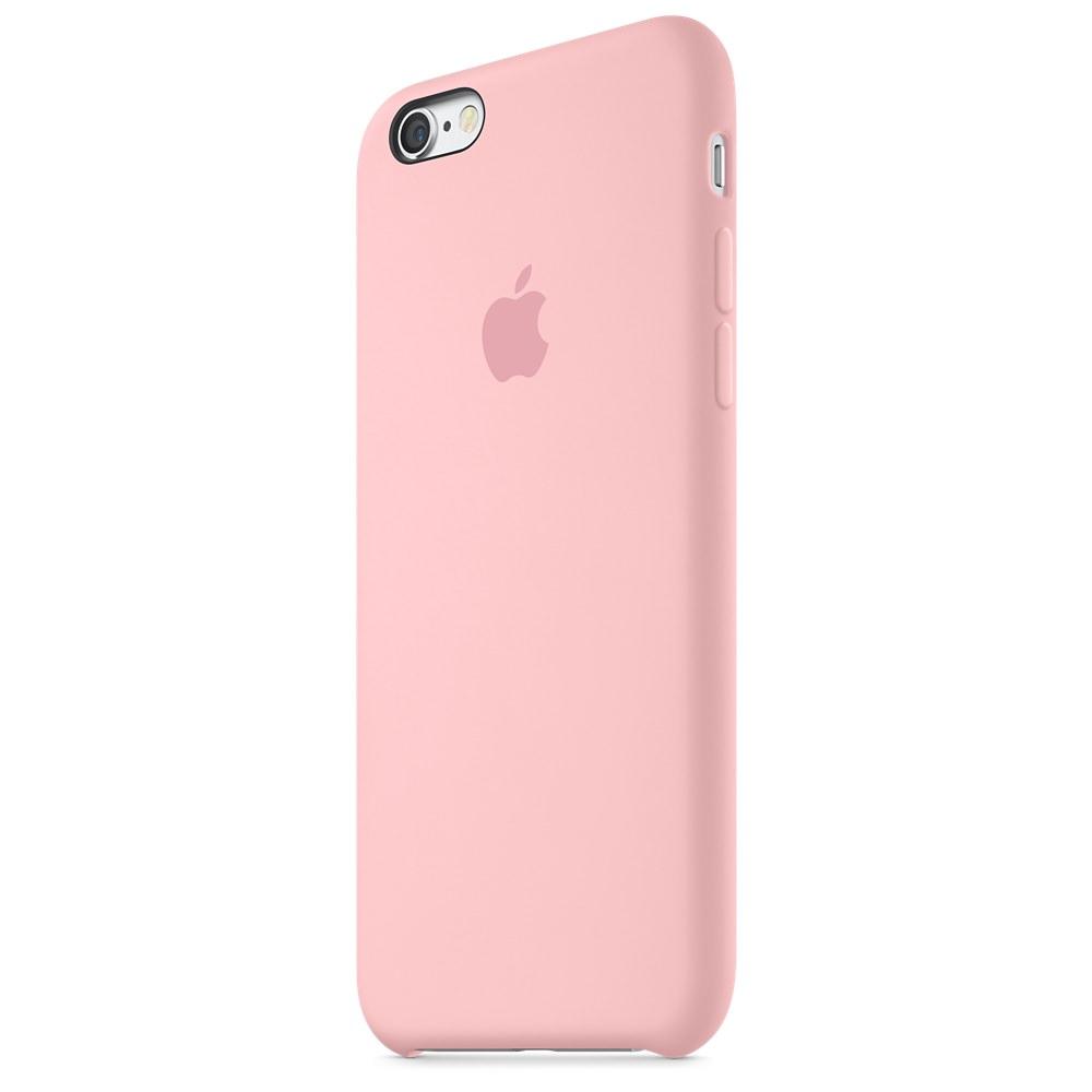 Силиконовый чехол Apple Silicone Case Pink (MLCU2) для iPhone 6/6s