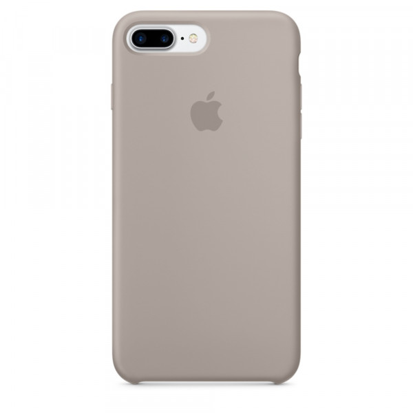 Чехол Silicone Case для iPhone 7 Plus/8 Plus Pebble OEM