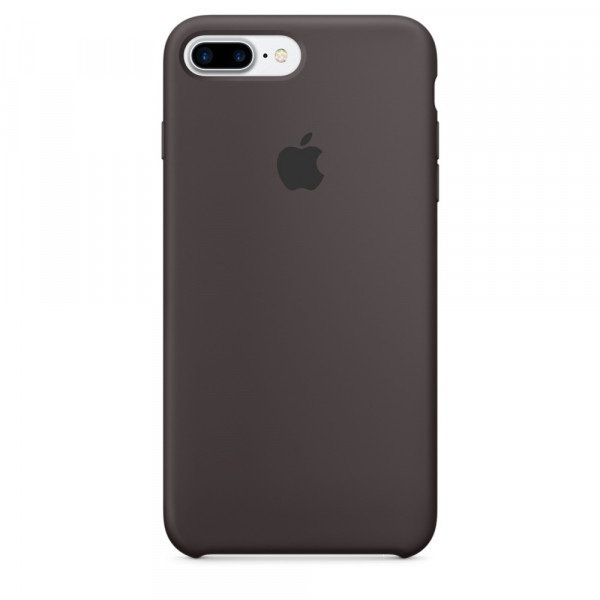 Чехол Silicone Case для iPhone 7 Plus/8 Plus Cocoa OEM