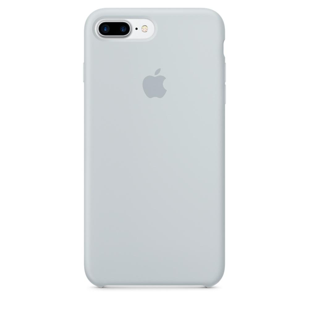 Чехол Silicone Case для iPhone 7 Plus/8 Plus Mist Blue OEM