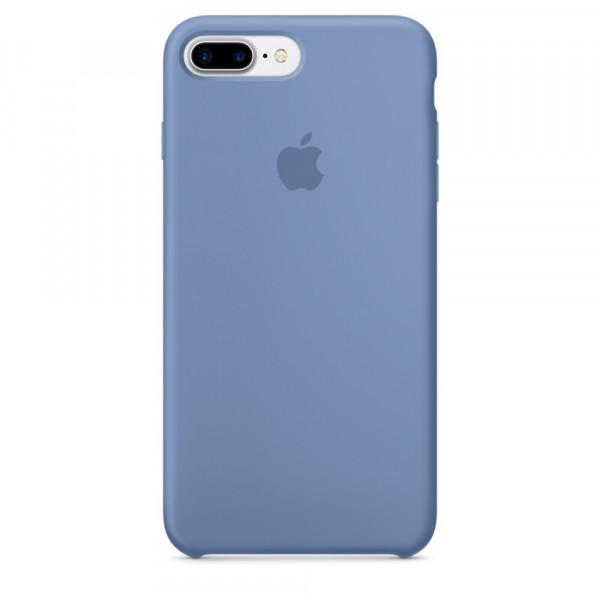 Чехол Silicone Case для iPhone 7 Plus/8 Plus Azure OEM