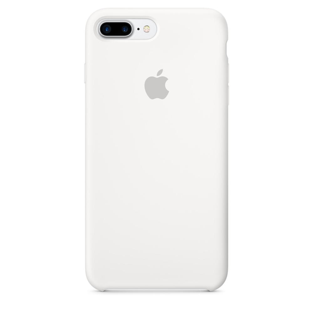 Чехол Apple Silicone Case для iPhone 8 Plus/7 Plus White Original (MQGX2)