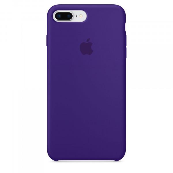 Чехол Apple Silicone Case для iPhone 8 Plus/7 Plus Ultra Violet Original (MQH42)