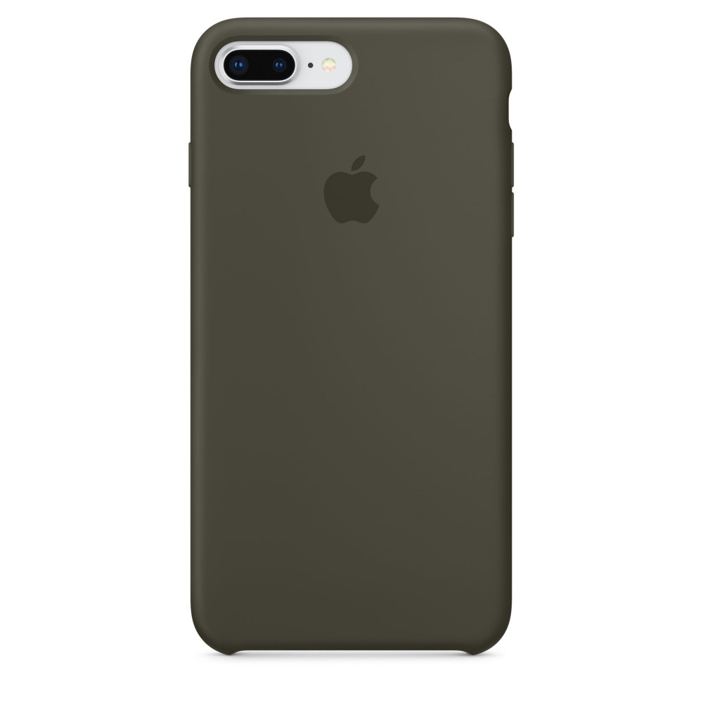 Чехол Apple Silicone Case для iPhone 8 Plus/7 Plus Dark Olive Original (MR3Q2)