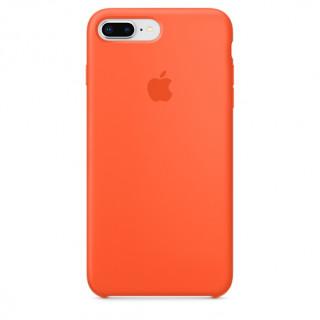 Чехол Silicone Case для iPhone 7 Plus/8 Plus Spicy Orange OEM