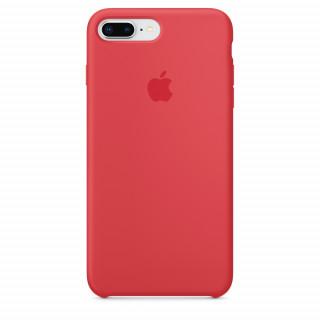 Чехол Silicone Case для iPhone 7 Plus/8 Plus Red Raspberry OEM