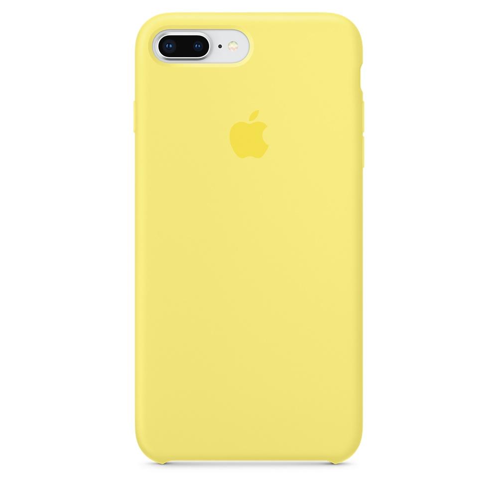 Чехол Apple Silicone Case для iPhone 8 Plus/7 Plus Lemonade Original (MRFY2)