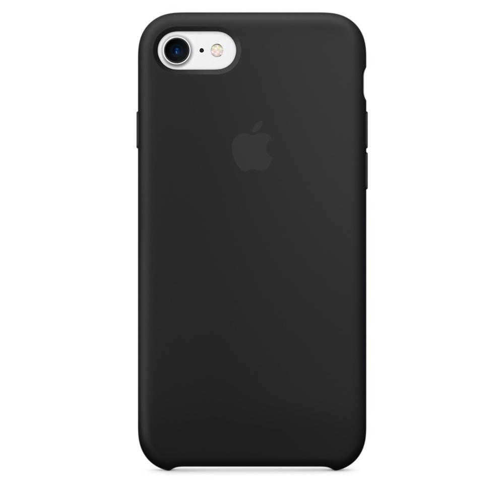Чехол Apple Silicone Case для iPhone 8/7 Black Original (MQGK2)