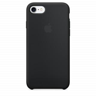 Чехол Silicone Case для iPhone 7/8 Black OEM