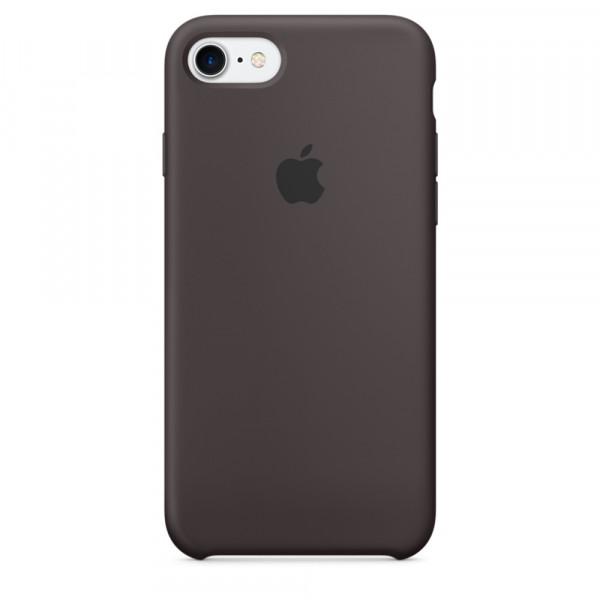 Чехол Silicone Case на iPhone 7 / 8 / SE (2020) Cocoa OEM