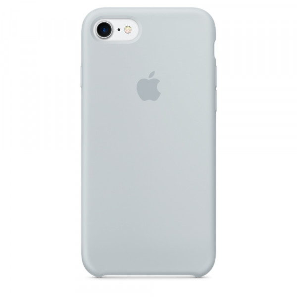 Чехол Silicone Case на iPhone 7 / 8 / SE (2020) Mist Blue OEM