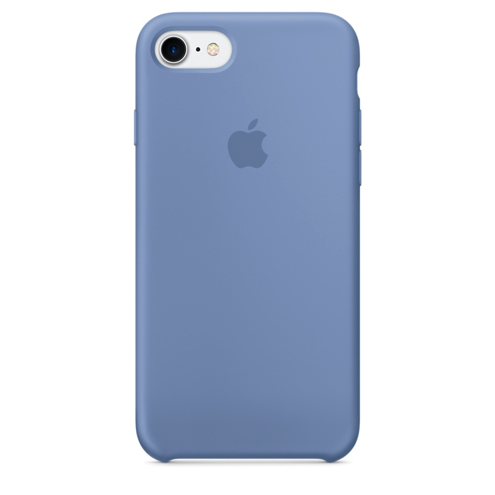 Чехол Silicone Case для iPhone 7/8 Azure OEM