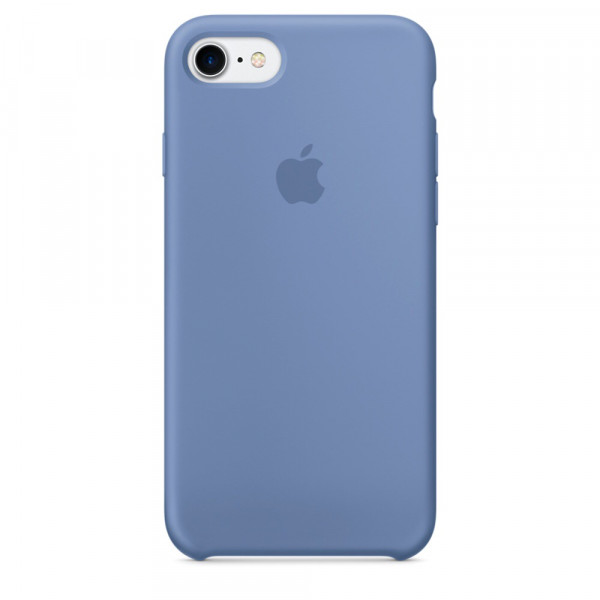 Чехол Silicone Case на iPhone 7 / 8 / SE (2020) Azure OEM