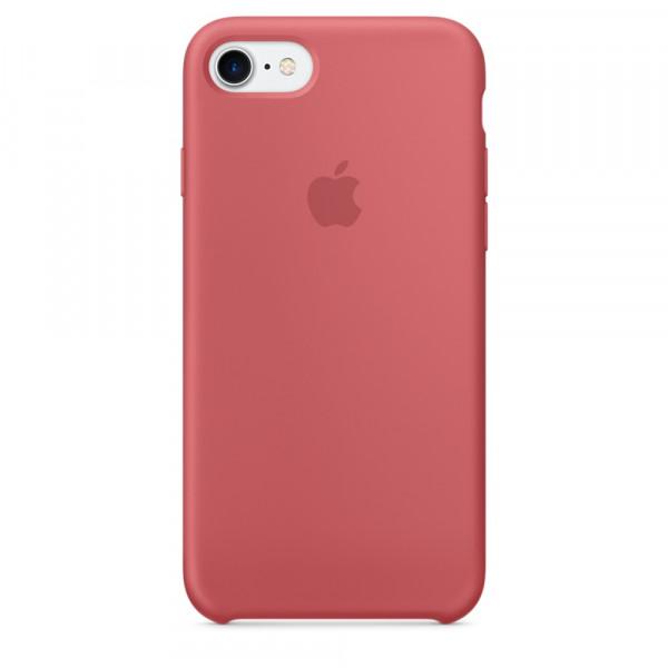 Чехол Silicone Case на iPhone 7 / 8 / SE (2020) Camellia OEM