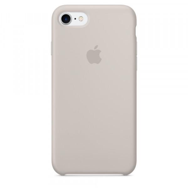 Чехол Silicone Case на iPhone 7 / 8 / SE (2020) Stone OEM