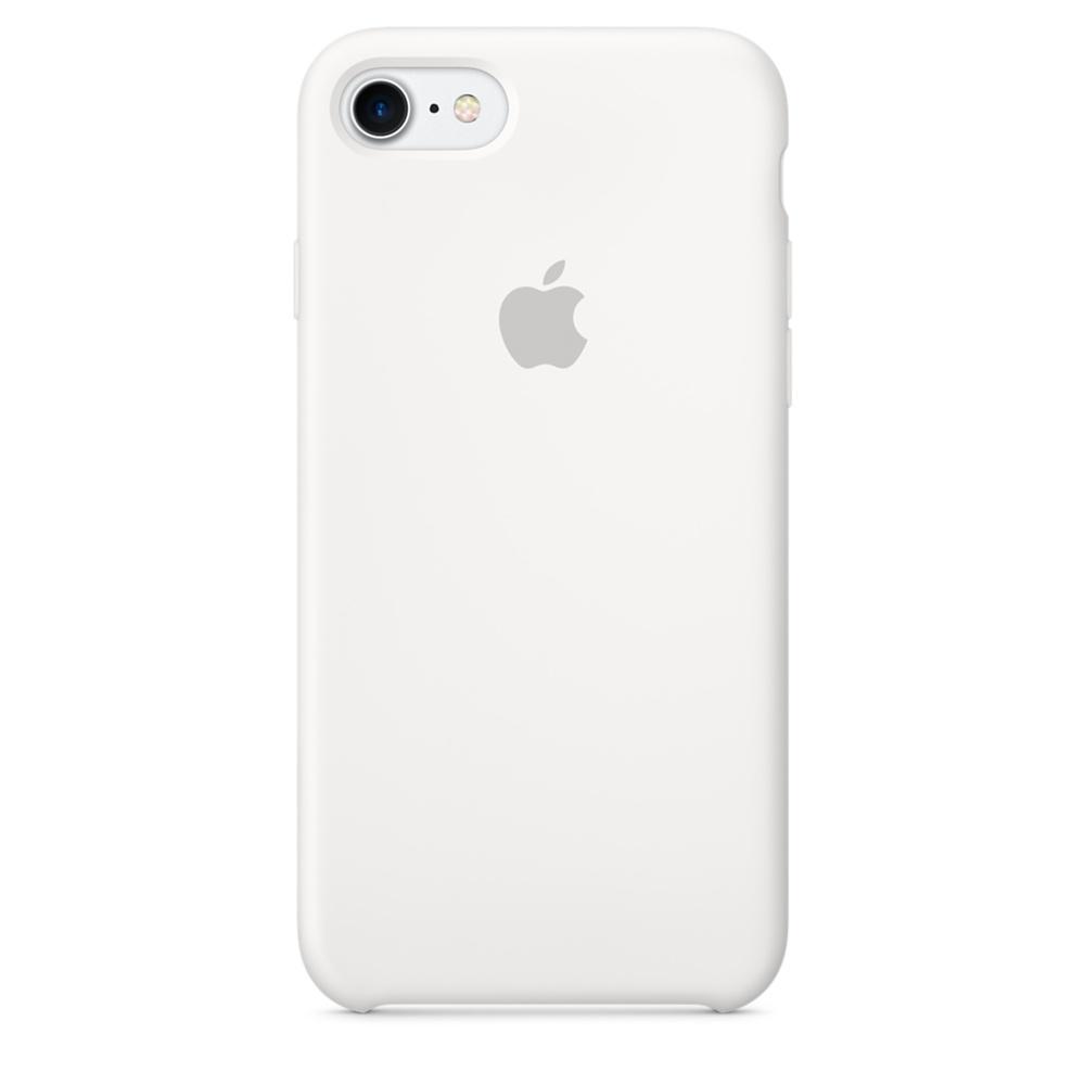 Чехол Silicone Case для iPhone 7/8 White OEM