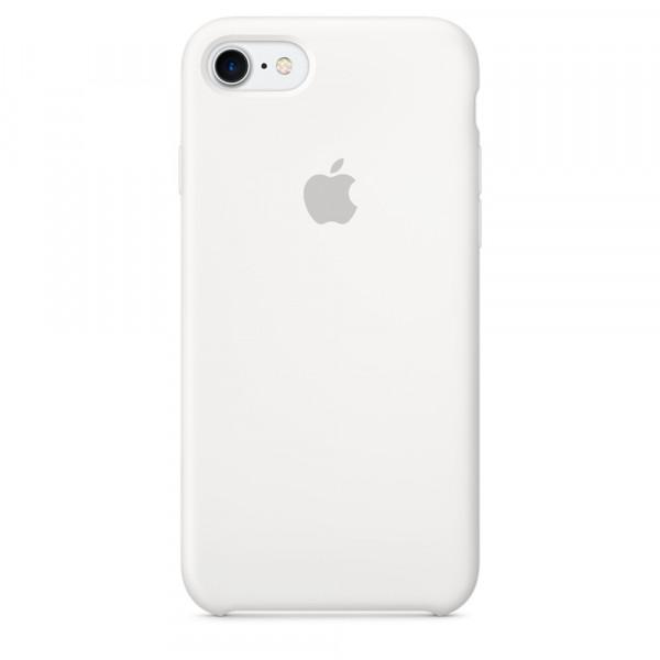 Чехол Silicone Case на iPhone 7 / 8 / SE (2020) White OEM