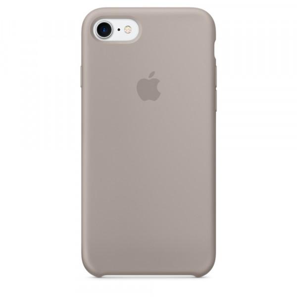 Чехол Silicone Case на iPhone 7 / 8 / SE (2020) Pebble OEM