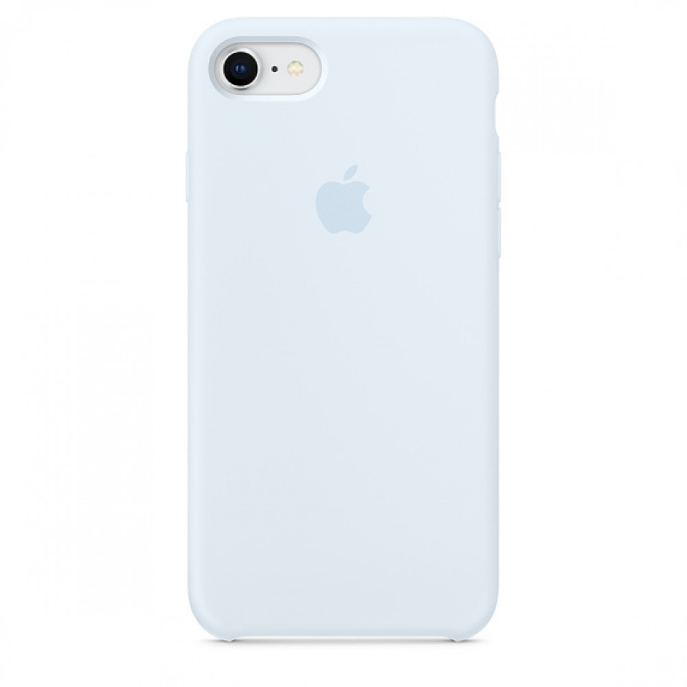 Чехол Apple Silicone Case для iPhone 8/7 Sky Blue Original (MRR62)