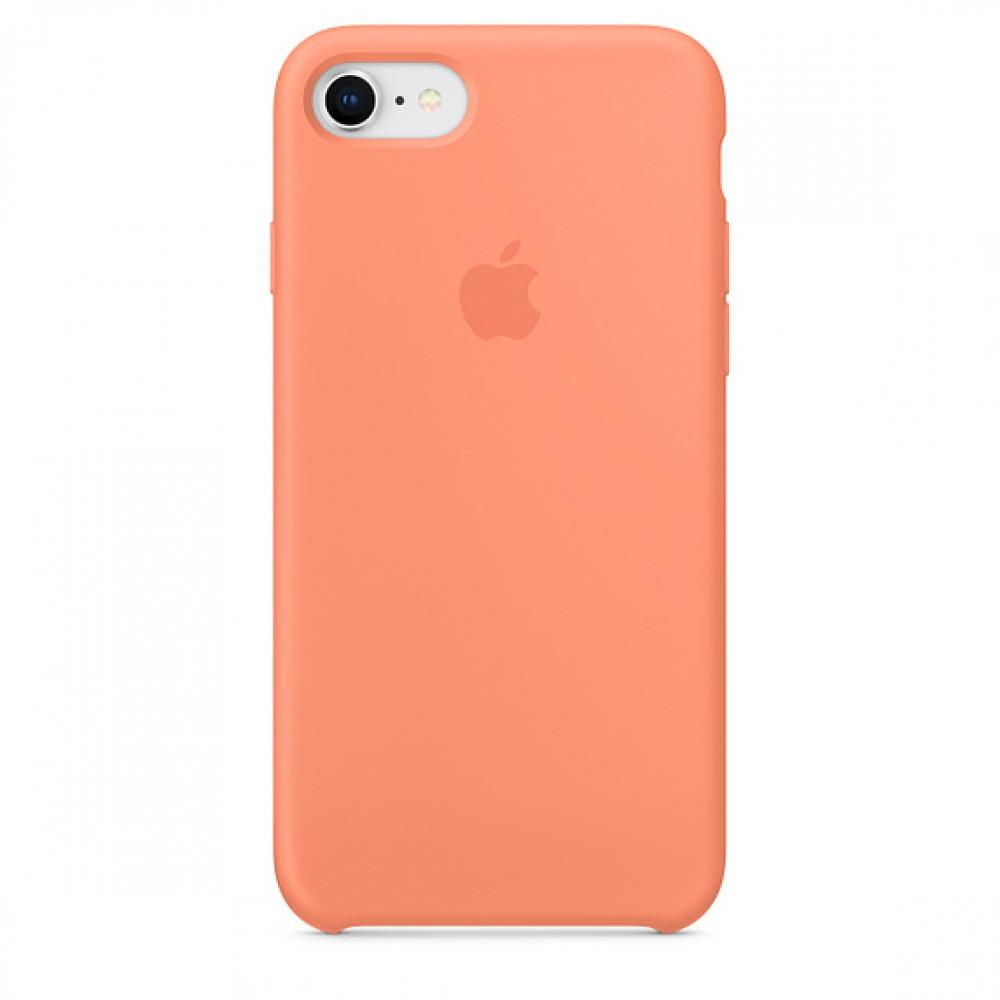 Чехол Apple Silicone Case для iPhone 8/7 Peach Original (MRR52)