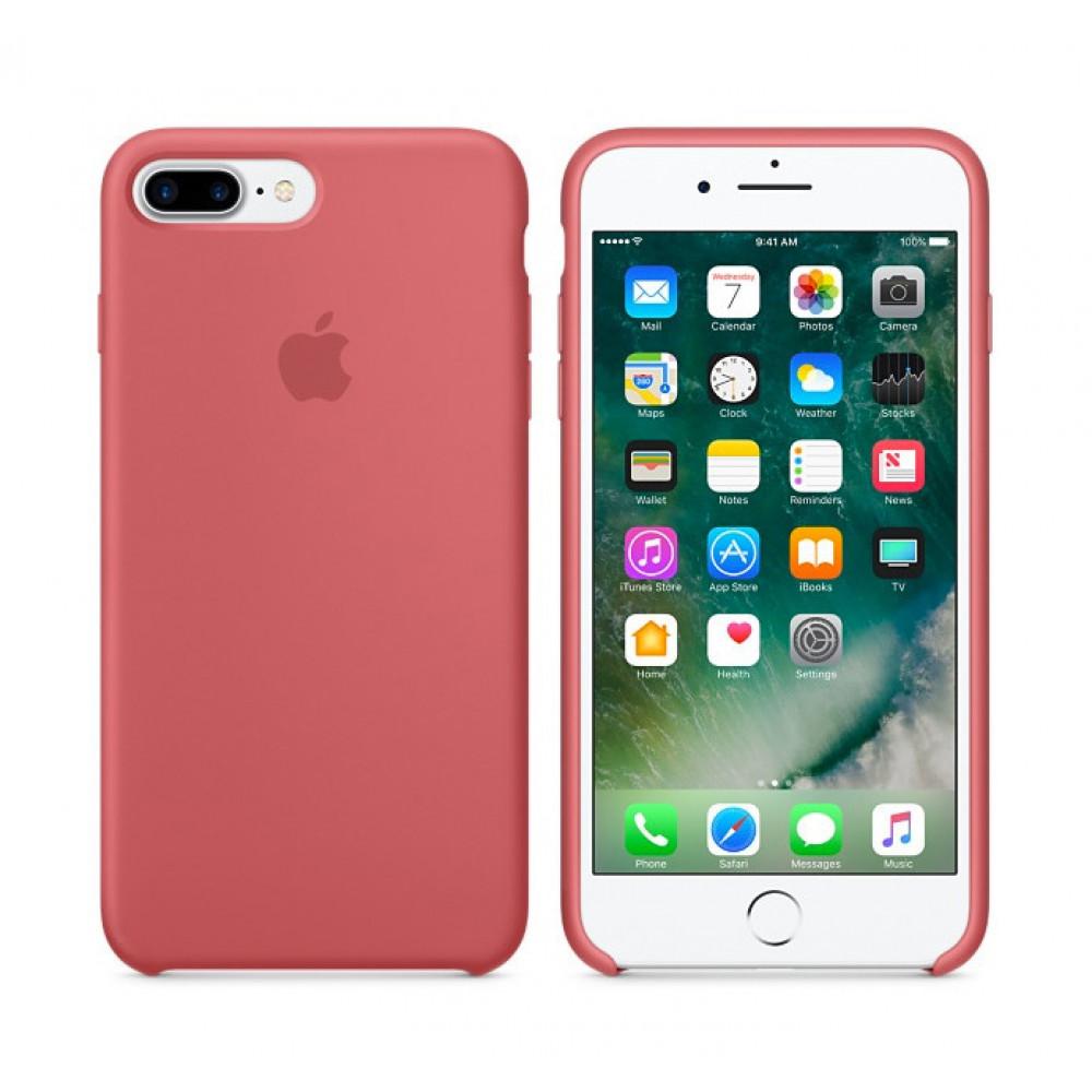 Чехол Silicone Case для iPhone 7 Plus/8 Plus Camellia OEM