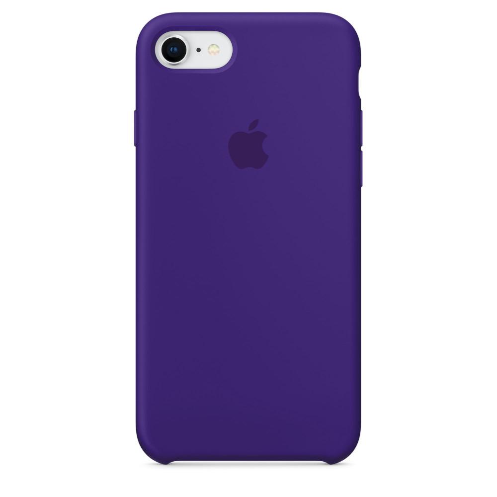 Чехол Silicone Case для iPhone 7/8 Ultra Violet OEM