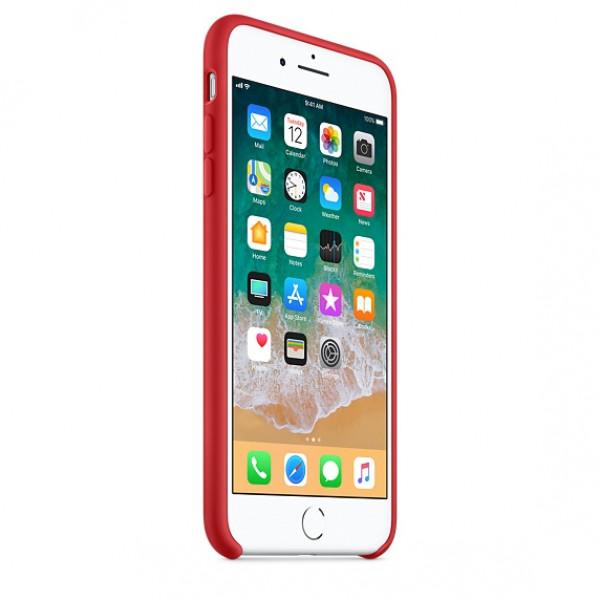 Чехол Apple Silicone Case для iPhone 8 Plus/7 Plus PRODUCT (RED) Original (MQH12)