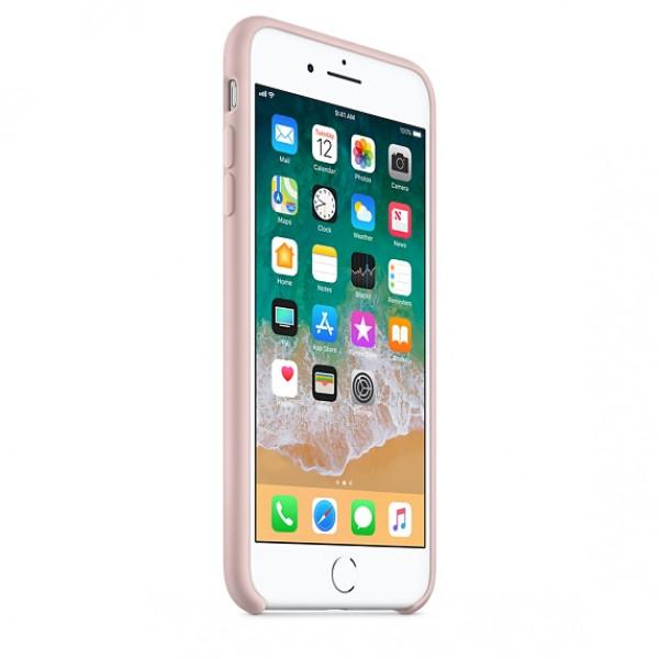 Чехол Apple Silicone Case для iPhone 8 Plus/7 Plus Pink Sand Original (MQH22)
