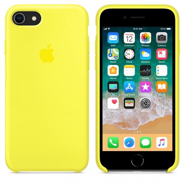 Чехол Silicone Case на iPhone 7 / 8 / SE (2020) Flash OEM