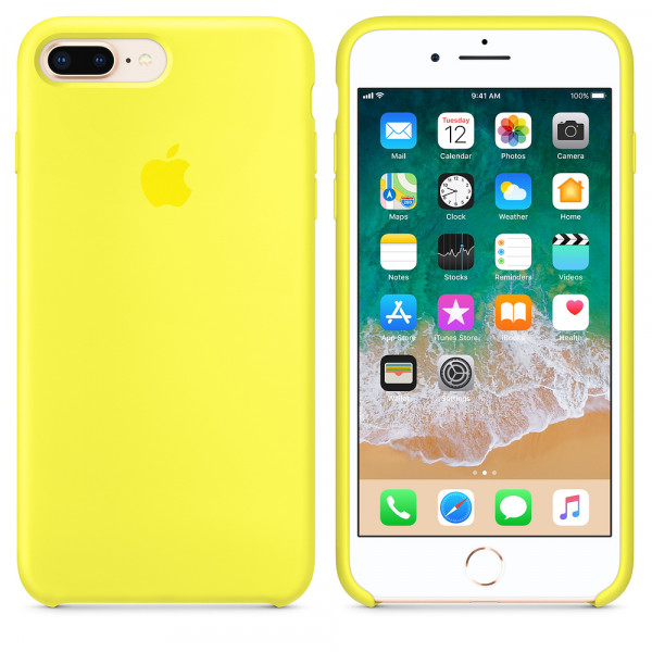 Чехол Apple Silicone Case для iPhone 8 Plus/7 Plus Flash Original (MQH12)