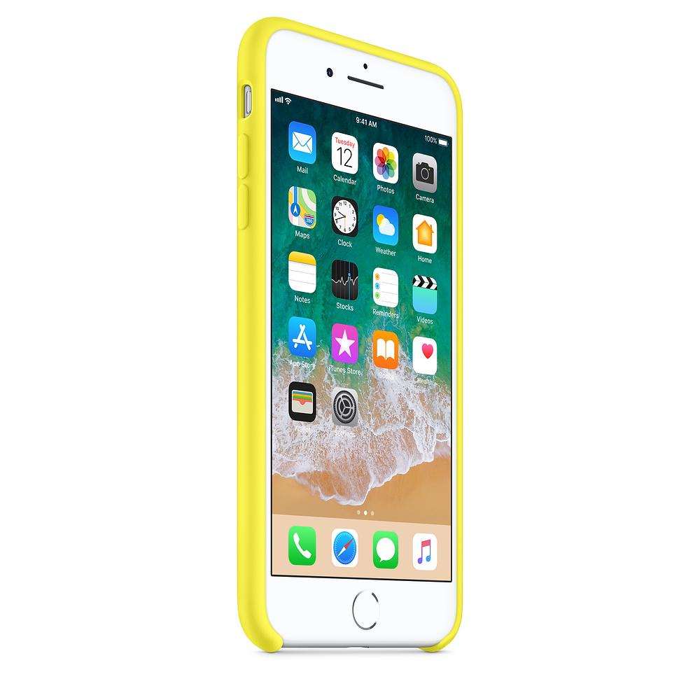 Чехол Silicone Case для iPhone 7 Plus/8 Plus Flash OEM
