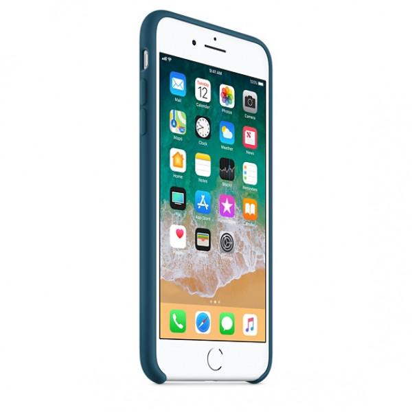 Чехол Apple Silicone Case для iPhone 8 Plus/7 Plus Cosmos Blue Original (MR6D2)