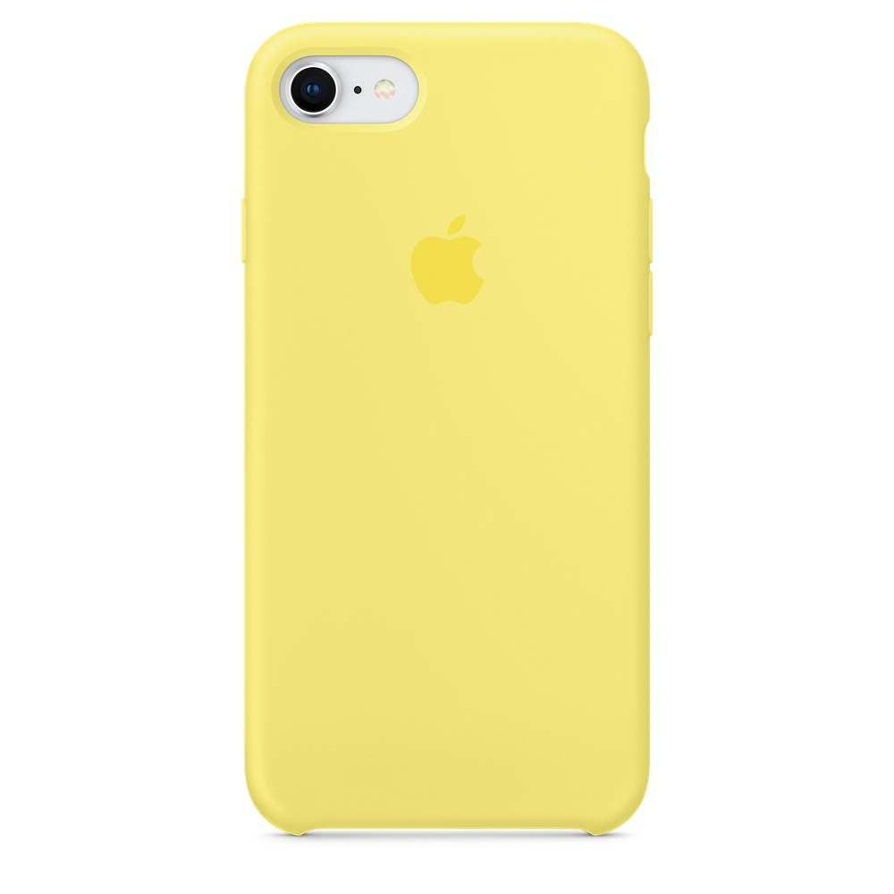 Чехол Apple Silicone Case для iPhone 8/7 Lemonade Original (MRFU2)