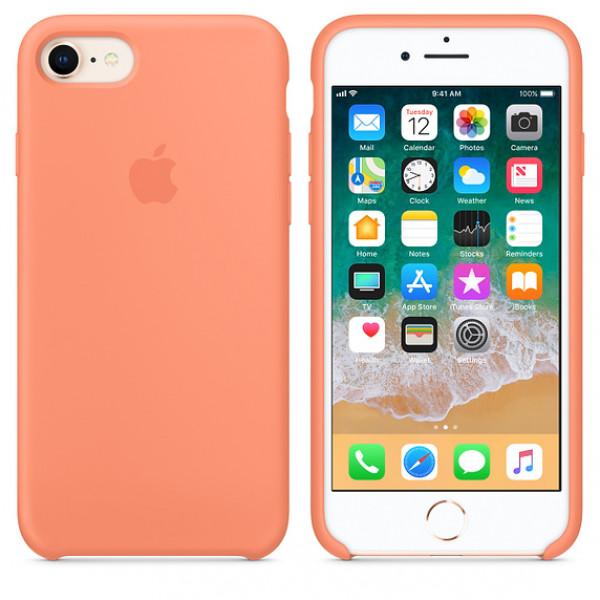 Чехол Apple Silicone Case на iPhone 7 / 8 / SE (2020) Peach Original (MRR52)