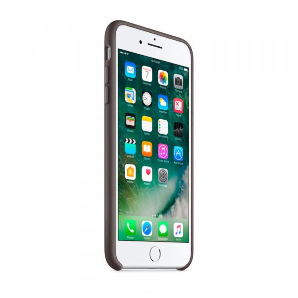 Чехол Silicone Case для iPhone 7 Plus/8 Plus Cocoa OEM