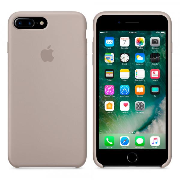 Чехол Silicone Case для iPhone 7 Plus/8 Plus Pebble OEM