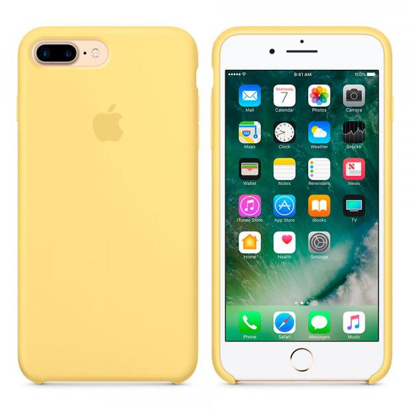 Чехол Silicone Case для iPhone 7 Plus/8 Plus Pollen OEM