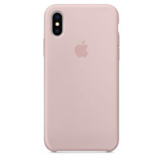Чехол Apple Silicone Case для iPhone XS Pink Sand Original (MTF82ZM/A)