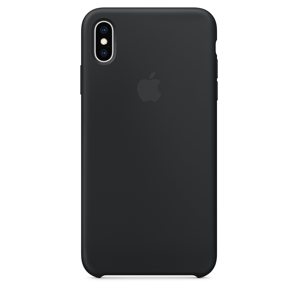Чехол Apple Silicone Case для iPhone XS Max Black Original (MRWE2)