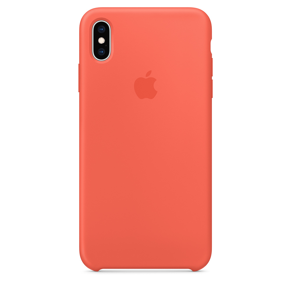 Чехол Apple Silicone Case для iPhone XS Max Nectarine Original (MTFF2)