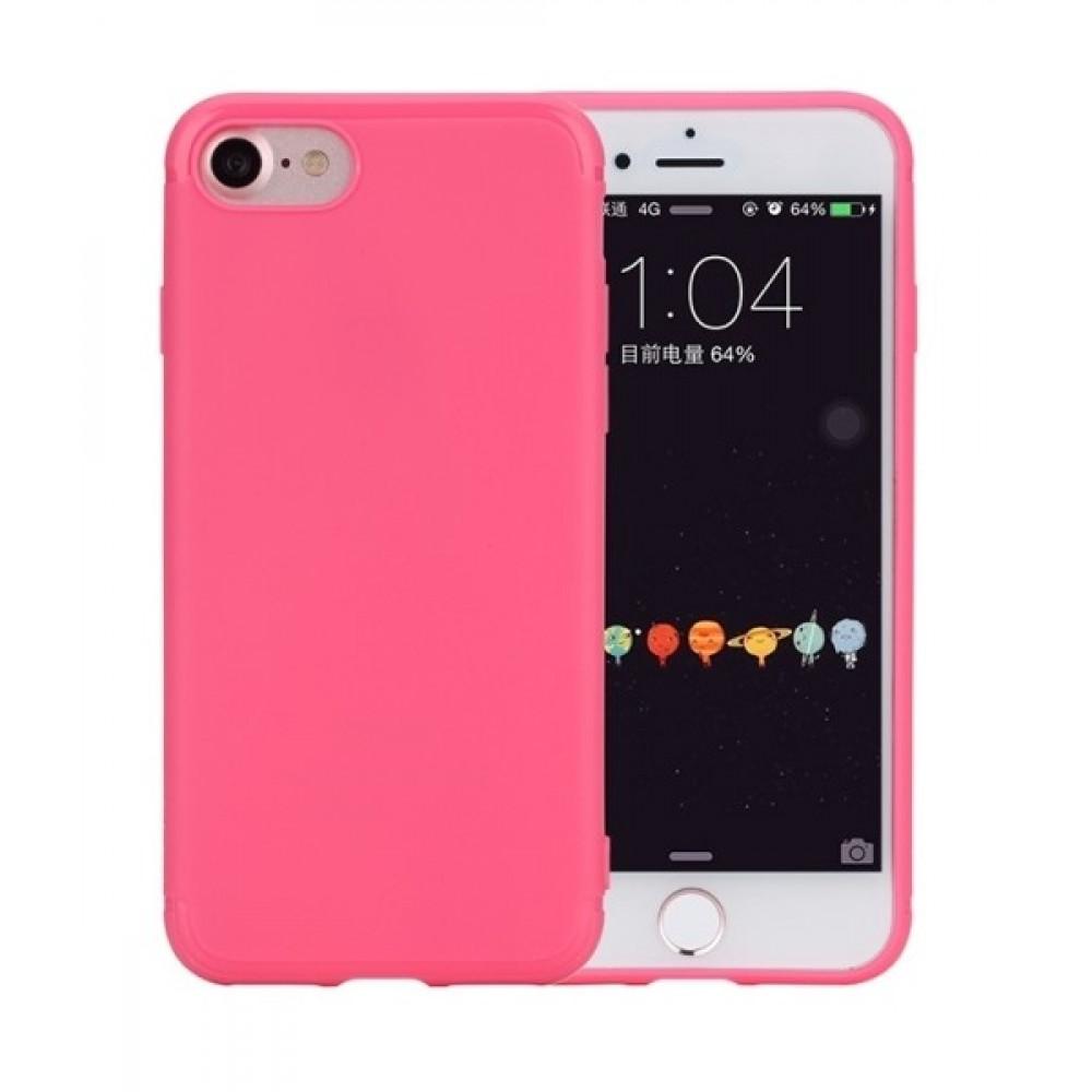 Чехол Rock Space Jello Rose Red для iPhone 7/8