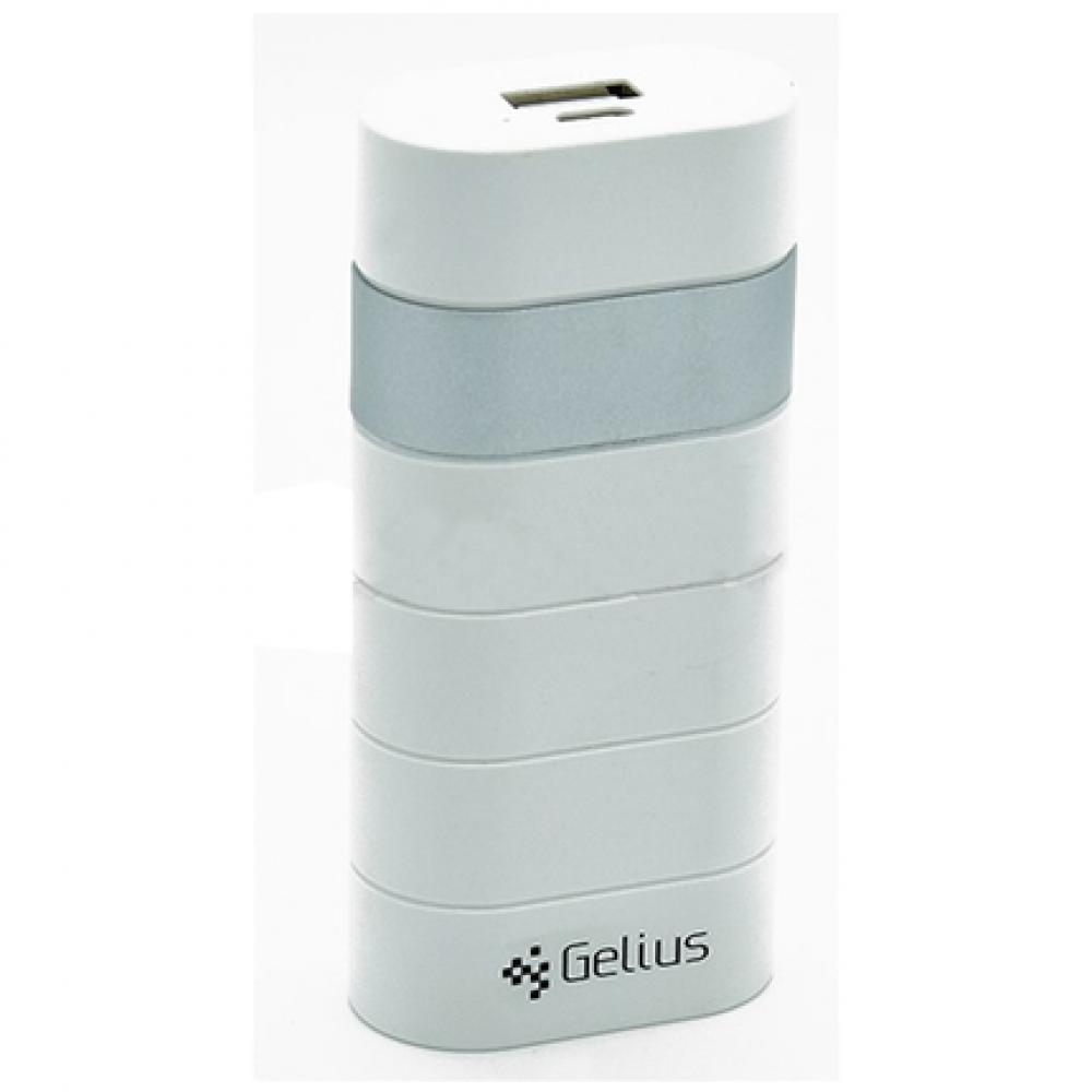 Внешний аккумулятор (Power Bank) Gelius GL-100 6000mAh Silver