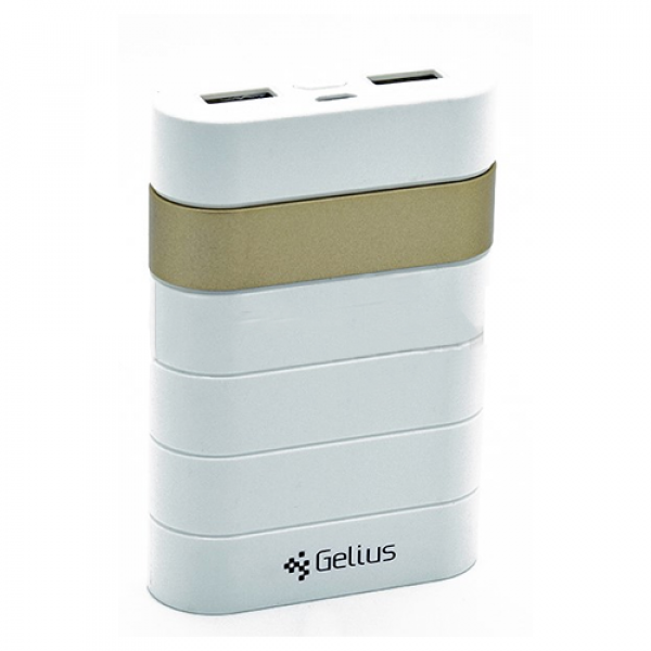 Внешний аккумулятор (Power Bank) Gelius GL-300 12000mAh Gold