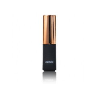 Внешний аккумулятор Remax Lipstick 2400 мАч (RPL-12) Gold